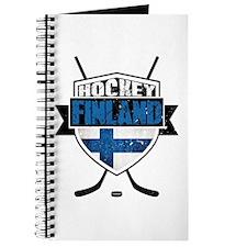 Suomi Finland Hockey Shield Journal