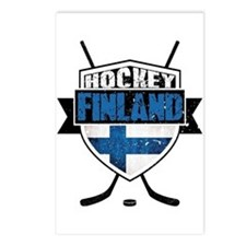 Suomi Finland Hockey Shield Postcards (Package of