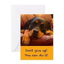 Dont Give Up Greeting Card