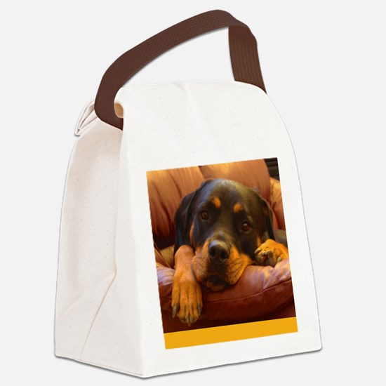 Dont Give Up Canvas Lunch Bag