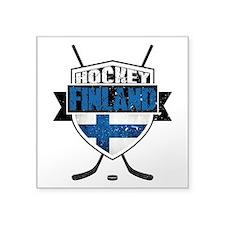 Suomi Finland Hockey Shield Sticker