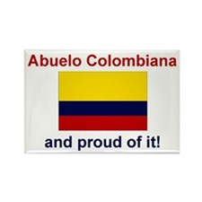 Abuelo Colombiana(Grandfather) Rectangle Magnet