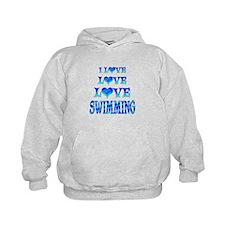 Love Love Swimming Hoody