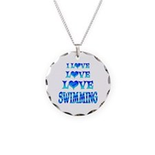 Love Love Swimming Necklace