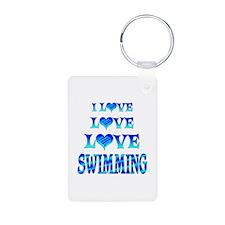 Love Love Swimming Keychains