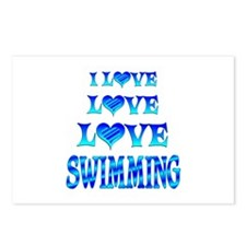 Love Love Swimming Postcards (Package of 8)