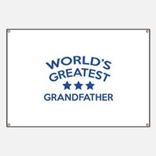 World's Greatest Grandfather Banner