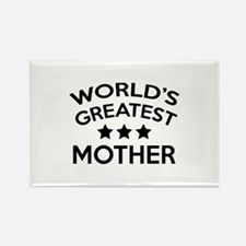 World's Greatest Mother Rectangle Magnet