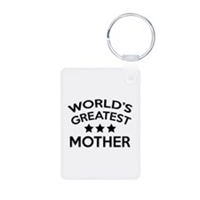 World's Greatest Mother Keychains