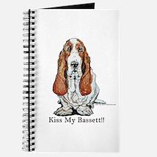 Bassett Hound Kiss Journal