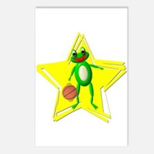 Basketball Frog Postcards (Package of 8)