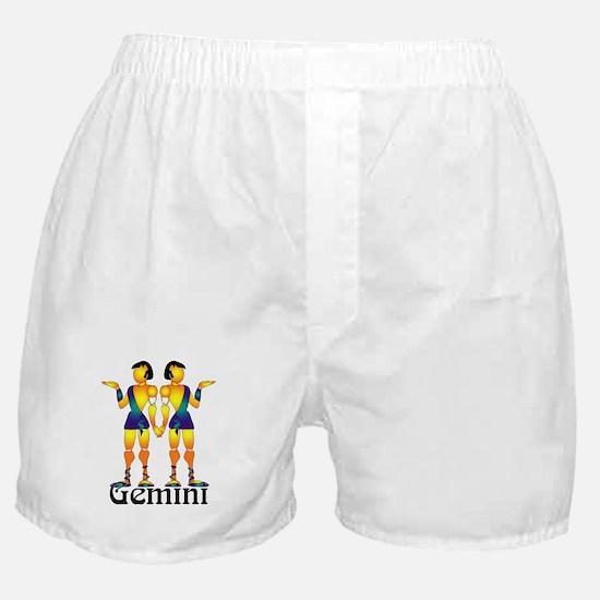 Whimsical Gemini Boxer Shorts