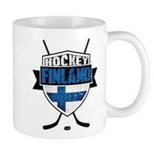 Suomi Finland Hockey Shield Mug