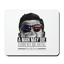 A MAN MAY DIE Mousepad