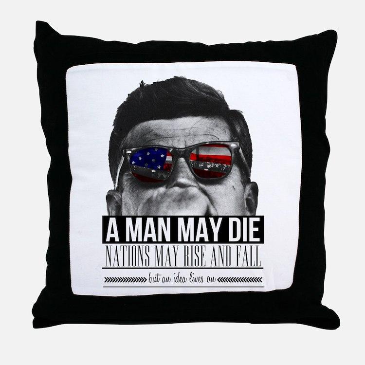JFK Throw Pillow