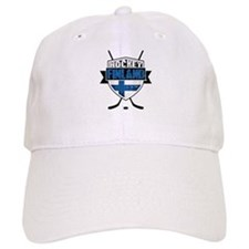 Suomi Finland Hockey Shield Baseball Baseball Cap