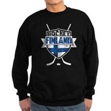 Suomi Finland Hockey Shield Jumper Sweater