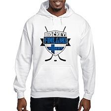 Suomi Finland Hockey Shield Hoodie