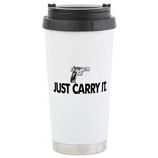 Just Carry It. Travel Coffee Mug