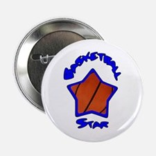 "Basketball Star 2.25"" Button (10 pack)"