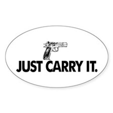 Just Carry It. Decal