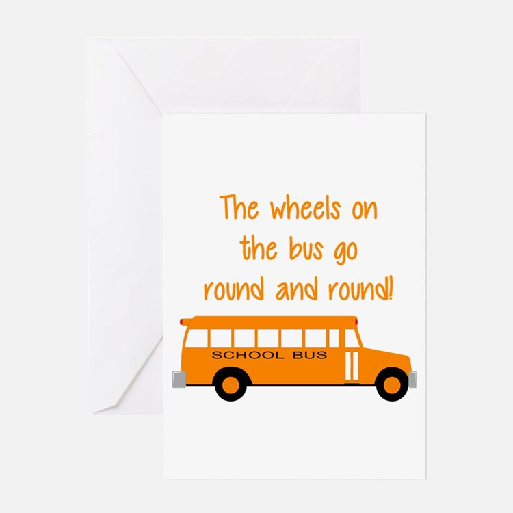 yellow bus greeting cards card ideas sayings designs templates. Black Bedroom Furniture Sets. Home Design Ideas