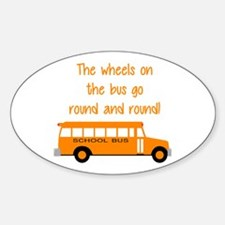 the wheels on the bus Decal