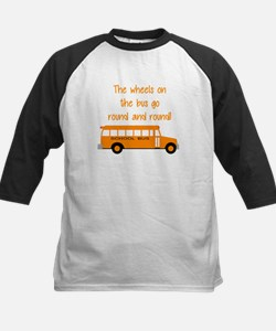 the wheels on the bus Baseball Jersey