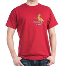Gecko Cardinal Color (pocket) T-Shirt