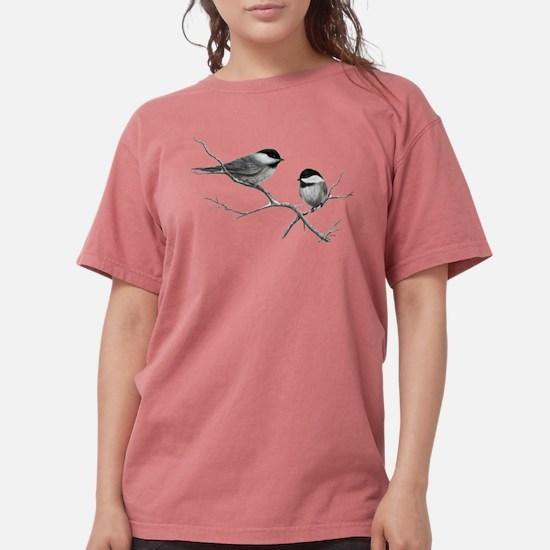 chickadee song bird Womens Comfort Colors Shirt