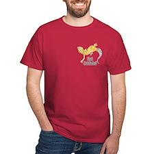 Gecko Got Crickets Cardinal Color (pocket) T-Shirt