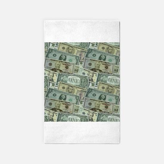 Easy Money 3x5 Area Rug