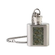 Easy Money Flask Necklace