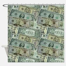 Easy Money Shower Curtain