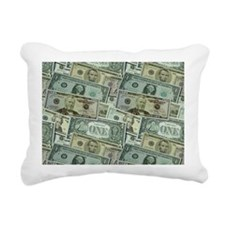 Easy Money Rectangular Canvas Pillow
