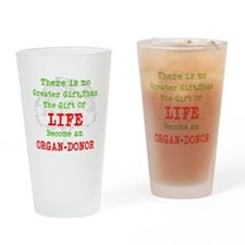 No Greater Gift Drinking Glass