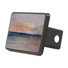 Sunset (w/c) - Rectangular Hitch Cover