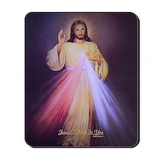 Divine Mercy Gold Mousepad