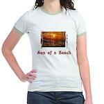 Sun of a Beach Jr. Ringer T-Shirt