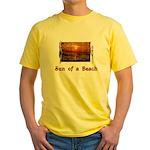 Sun of a Beach Yellow T-Shirt