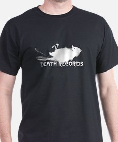 Death Records Short Sleeve Dark TShirt