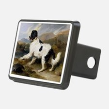 Painting of Newfoundland Landseer Hitch Cover
