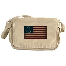 American Flag Messenger Bag