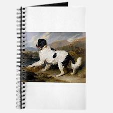 Painting of Newfoundland Landseer Journal