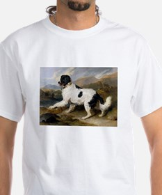Painting of Newfoundland Landseer T-Shirt