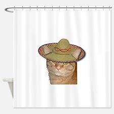 Cinco de Gato Shower Curtain
