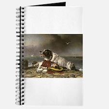 Painting of Landseer Rescue Journal