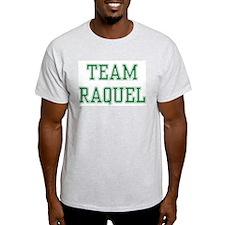 TEAM RAQUEL  Ash Grey T-Shirt