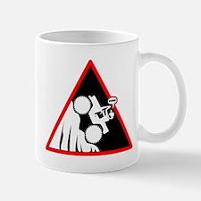 Hill Climb DUDE Danger Signs Mug