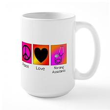 peace love nursing assistants Mug